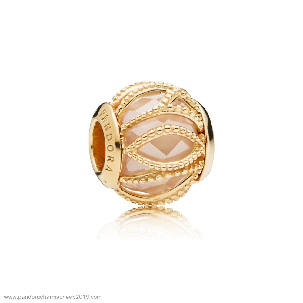 Pandora Original Pandora Shine Golden Intertwining Radiance Charm