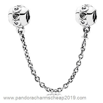 Pandora Original Pandora Safety Chains Love Connection Safety Chain